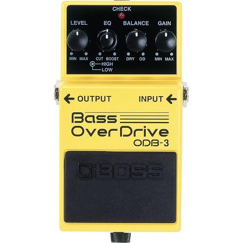 BOSS Bass Effect Bass Overdrive [ODB-3] - Bass Stompbox Effect